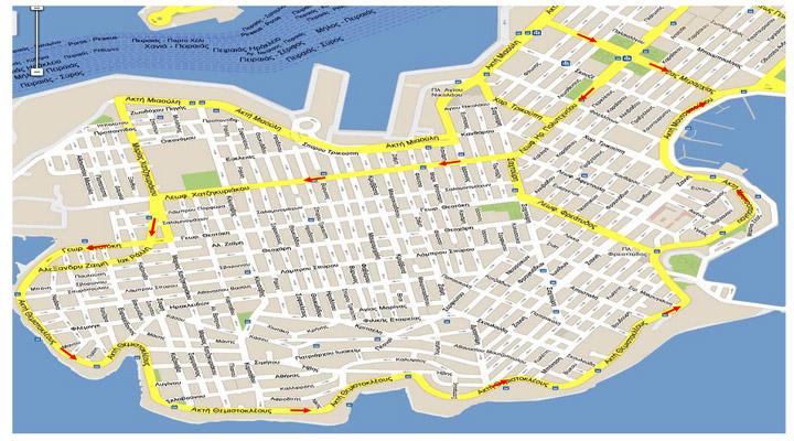 Στις 16 Μαρτίου ξεκινά στον Πειραιά η δεύτερη φάση των μονοδρομήσεων