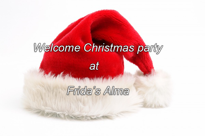 Welcome Christmas Party στο Frida's Alma