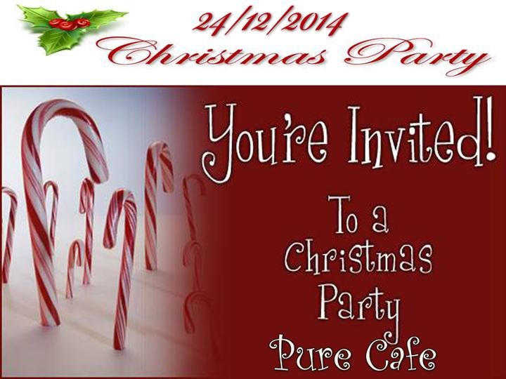 """Χριστουγεννιάτικο Πάρτυ στο """"Pure Cafe"""""""