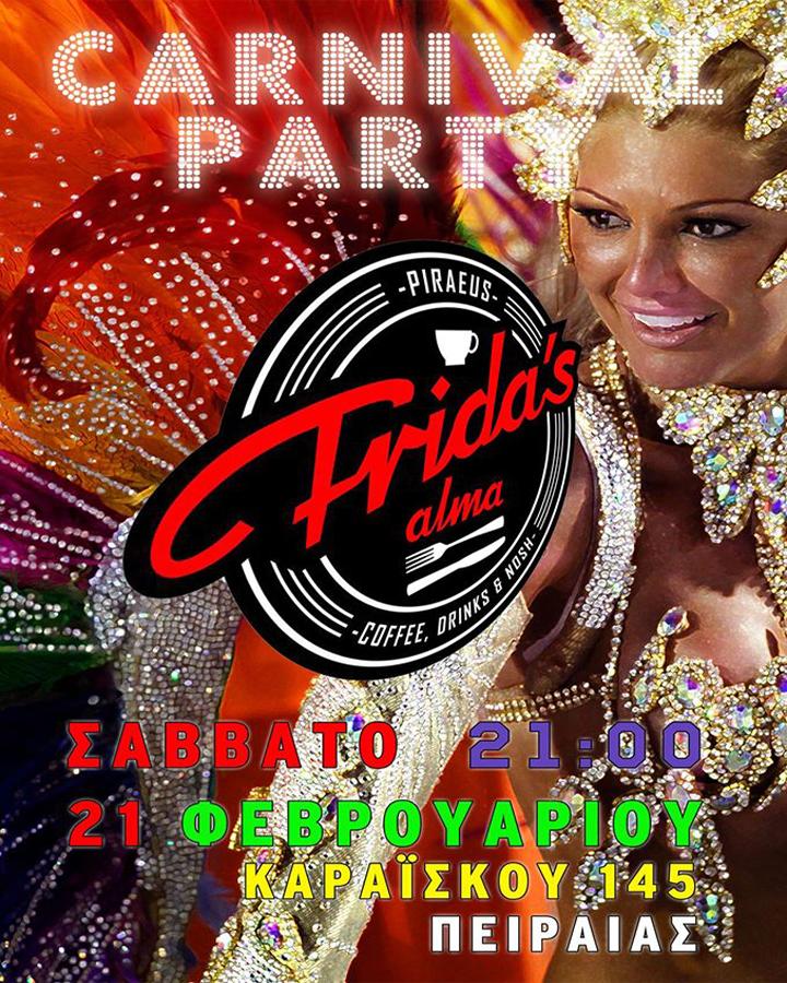 Carnival Party στο Frida's Alma