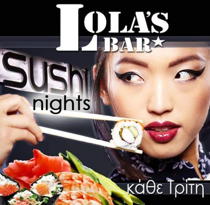 Sushi Night @ Lola's