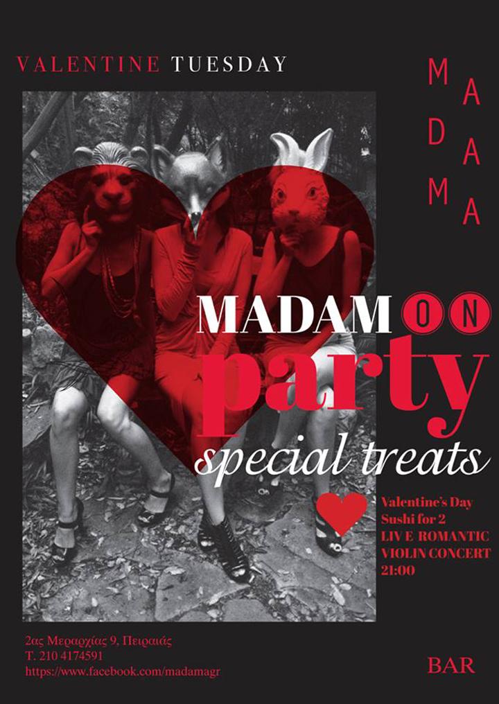 Valentine's Day @ Madama Bar