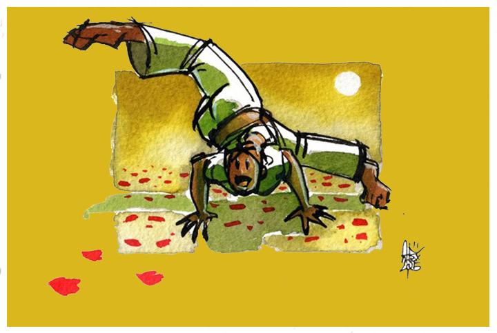 Capoeira για παιδιά στο Κέντρο Πολιτισμού Ίδρυμα Σταύρος Νιάρχος