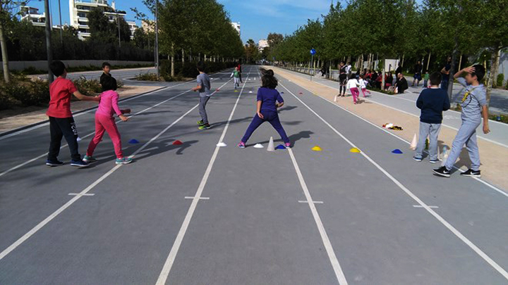 Αθλητικά παιχνίδια για παιδιά στο Ίδρυμα Σταύρος Νιάρχος