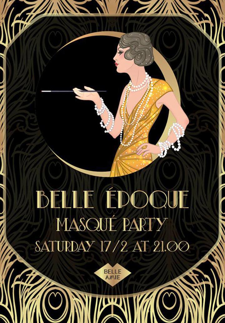 Belle Époque • Masqué Party at Belle Amie