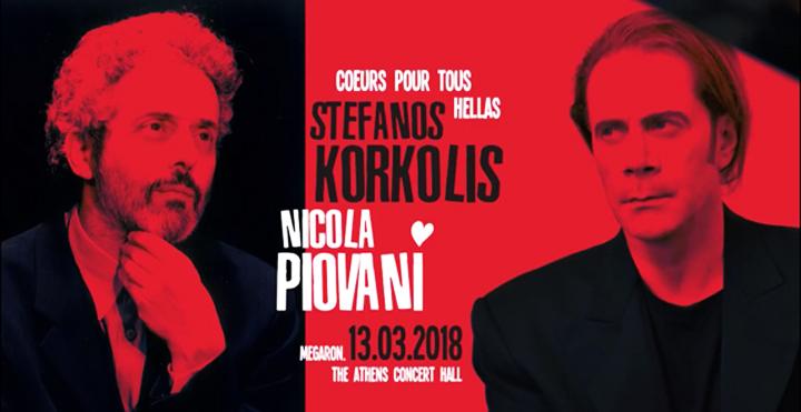 Nicola Piovani – Στέφανος Κορκολής στο Μέγαρο Μουσικής Αθηνών