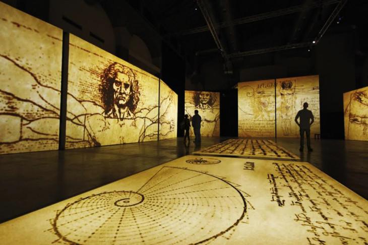 """Έκθεση """"Leonardo Da Vinci – 500 Years of Genius"""""""