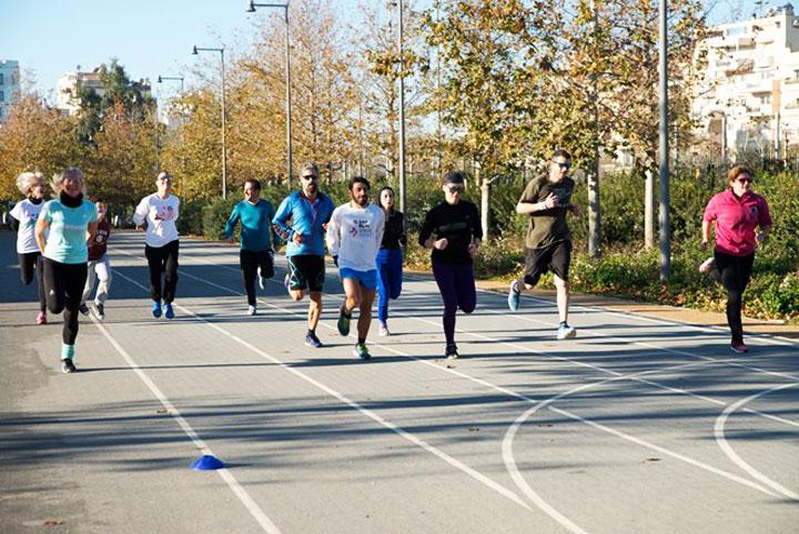 Running Team στο κέντρο πολιτισμού ίδρυμα Σταύρος Νιάρχος