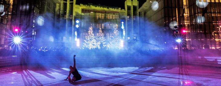 Σόου Καλλιτεχνικού Πατινάζ στο κέντρο πολιτισμού ίδρυμα Σταύρος Νιάρχος