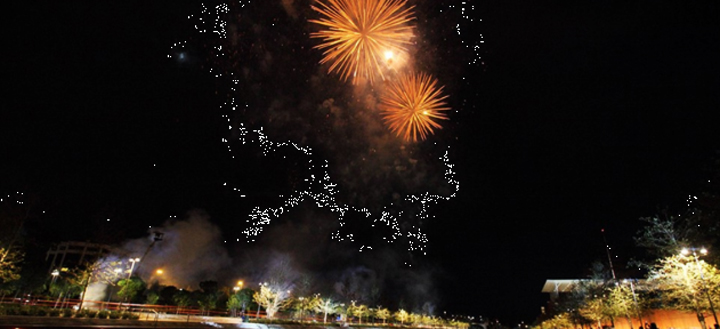 Show Πυροτεχνημάτων στο κέντρο πολιτισμού ίδρυμα Σταύρος Νιάρχος