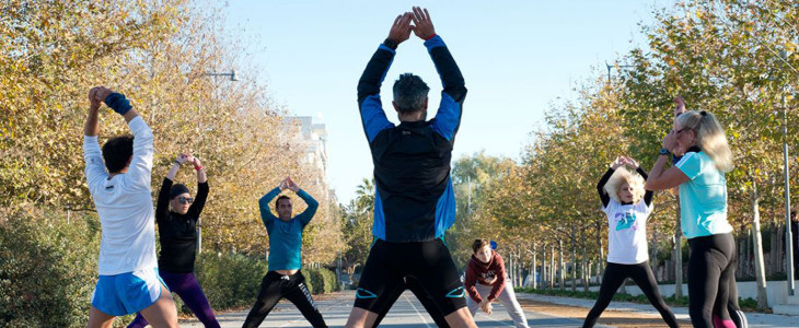 Άσκηση για όλους στο κέντρο πολιτισμού Σταύρος Νιάρχος