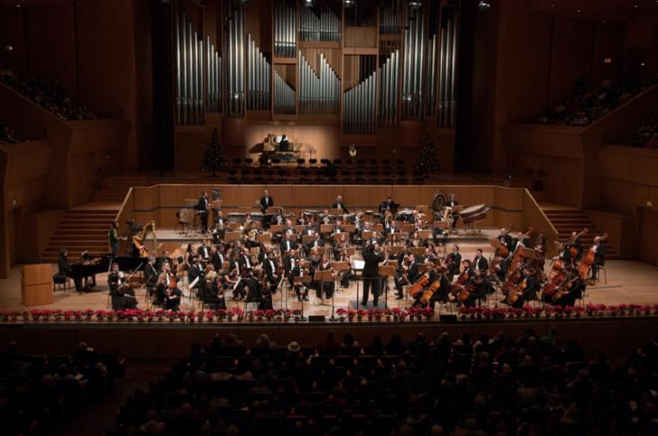 Συναυλία της Εθνικής Συμφωνικής Ορχήστρας στο Μέγαρο Μουσικής Αθηνών