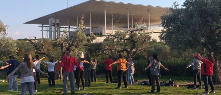 Άσκηση για όλους στο κέντρο πολιτισμού ίδρυμα Σταύρος Νιάρχος