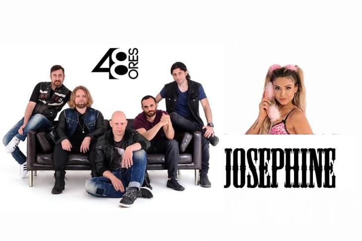 """Συναυλία με τις """"48 Ώρες"""" & τη Josephine στο κέντρο του Πειραιά"""