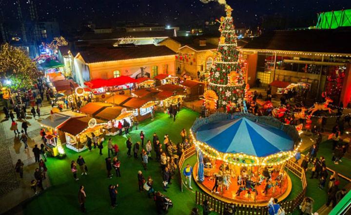 The Christmas Factory – Η Επέλαση των Ξωτικών στην Τεχνόπολη στο Γκάζι