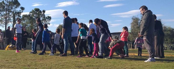 Παιχνίδια για οικογένειες στο πάρκο Σταύρος Νιάρχος