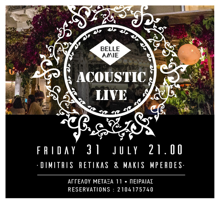 Acoustic Live at Belle Amie